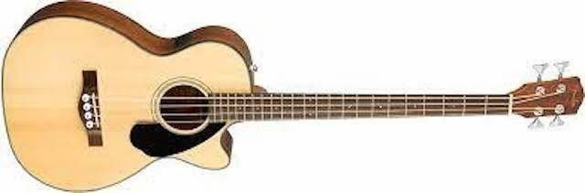 FENDER CB 60SCE ACOUSTIC BASS GUITAR FOR