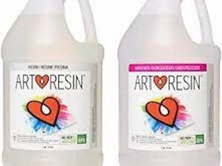 ARTRESIN   EPOXY RESIN   ClEAR   NON TOXIC   2