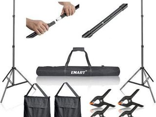 EMART ADJUSTABlE BACKDROP SUPPORT FOR PHOTO AND
