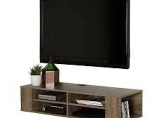 SOUTH SHORE MEUBlE TV MURAl 48  TV STAND WAll
