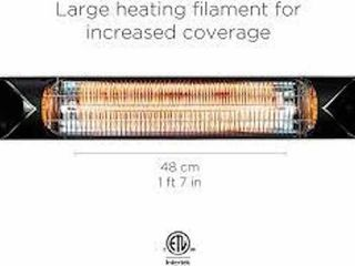 BRIZA HEATER CARBON INFRARED HEATER