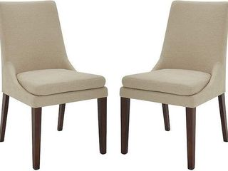 STONE AND BEAM AlAINA UPHOlSTERED MODERN CHAIR