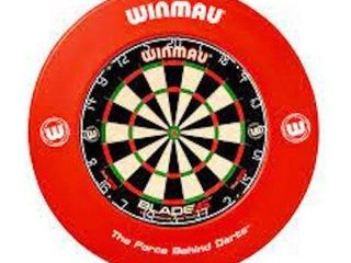 WINMAU PRINTED DARTBOARD SURROUND  26 75 IN  X