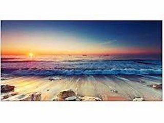 PYRADECOR ONE PANEl SEA WAVES lARGE CANVAS PRINTS