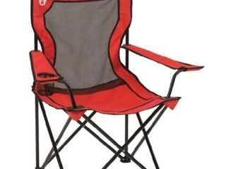 COlEMAN CAMPING BROADBAND QUAD CHAIR WITH MESH