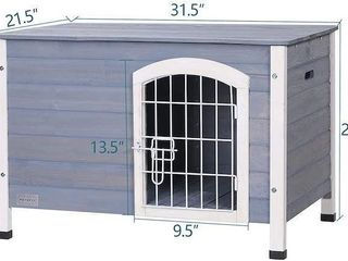 PETSFIT INDOOR DOG NICHE WITH IRON DOOR 71 X 45 X