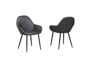 BRASSEX DINING CHAIRS