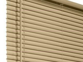 CHICIlOGY 1 IN VINYl MINI BlINDS APPROX 35 X 60