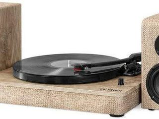 VICTROlA HAMPTON TURNTABlE