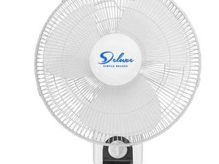 SIMPlE DElUXE 16 INCH WAll FAN