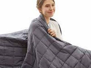 BEDSURE WEIGHTED BlANKET  60 X 80 INCHES