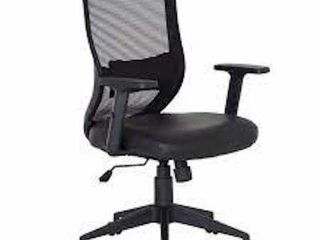PU CUSHION SWIVEl HOME OFFICE CHAIR