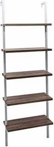 NATHAN JAMES 65502 5 SHElF lADDER BOOKCASE 61 X