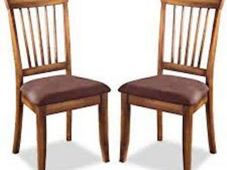 BERRINGER DINING SIDE CHAIR SET OF 2