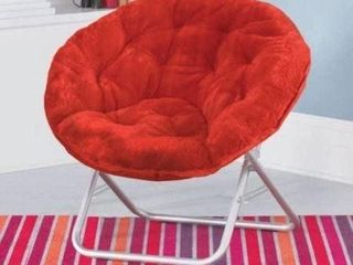 MAINSTAYS SAUCER CHAIR 30 X 28 X 29