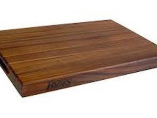 JOHN BODS WAlNUT CUTTING BOARD 1 1 2  20 X 16 5