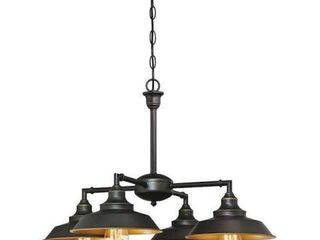 WESTINGHOUSE 4 lIGHT IRON HIll INDOOR FIXTURE
