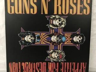 GUNS N  ROSES RECORD AlBUM
