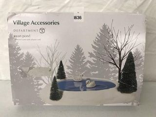 VIllAGE ACCESSORIES SWAN POND