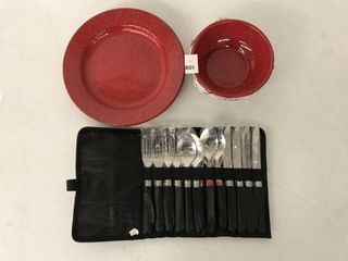 19 PCSCOlEMAN DINNERWARE SET