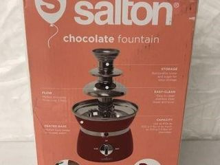 SAlTON CHOCOlATE FOUNTAIN
