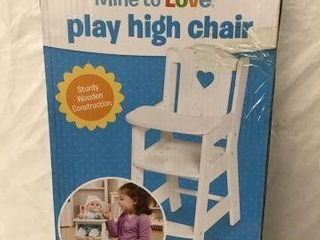 MElISSA   DOUG PlAY HIGH CHAIR