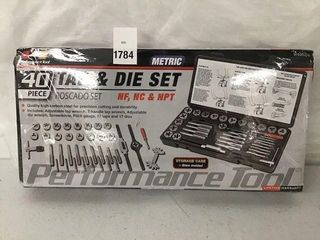 PERFORMANCE TOOl TAT   DIE SET ROSCADO SET