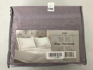 4PCS COMFIT BEDSHEET SET SIZE KING