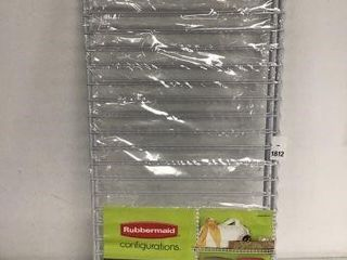 2 PCS RUBBERMAID EXPANDABlE SHElVES SIZE 2 4FT
