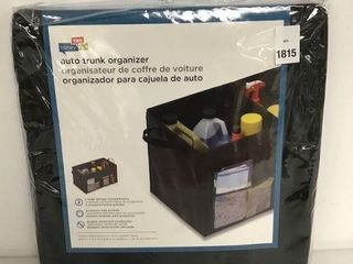 HONEY CAN DO AUTO TRUNK ORGANIZER