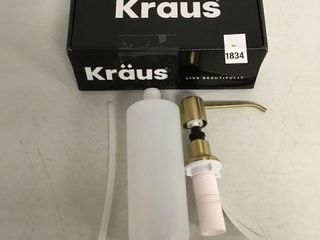 KRAUS KITCHEN SOAP DISPENSER