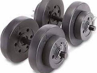 MARCY 40 POUND DUMBBEll SET 14