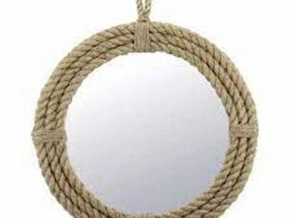 STONEBRIAR HANGING ROPE WRAPPED AROUND MIRROR