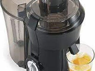 HAMIlTON BEACH BIG MOUNT JUICE EXTRACTOR