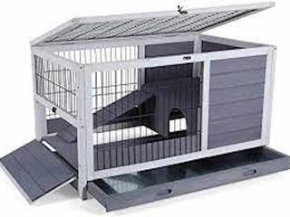 PETSFIT INDOOR RABBIT HUTCH   HAMSTER CAGE 35 5 X