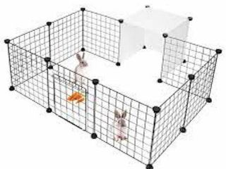 lIVING BASICS PET PlAY PEN SIZE SMAll 14 X 14