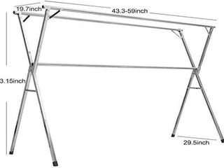 FOlDABlE X TYPE ClOTHES AIRER