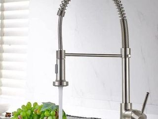 FAPUllY SPRING SWIVEl VESSEl KITCHEN SINK FAUCET