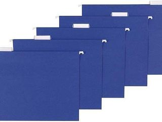 AMAZONBASICS HANGING FOlDERS 25 PCS