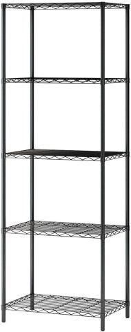 HOMEFORT 5 lAYER SHElVING RACK 21 X 14 X 61