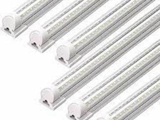 BARRINA lED TUBE lIGHT FIXTURE 4 FT  6 PACK