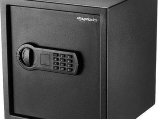 AMAZONBASICS HOME KEYPAD SAFE   1 2 CUBIC FEET
