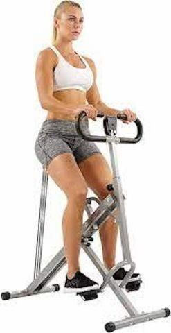 SUNNY UPRIGHT ROW N RIDE EXERCISER