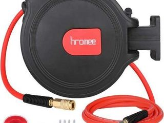 HROMEE AIR COMPRESSOR HOSE REEl WITH AUTO