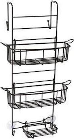 ZENNA HOME E7803HB SHOWER CADDY  12 IN W X 8 75
