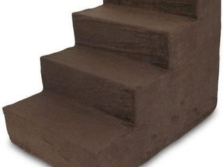 BEST PET SUPPlIES 4 STEP FOAM PET STAIRS STEPS