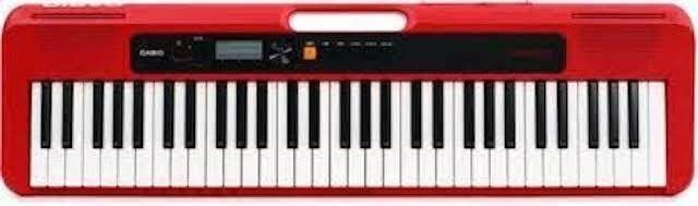 CASIO ElECTRONIC KEYBOARD CASIOTONE CT S200RD RED