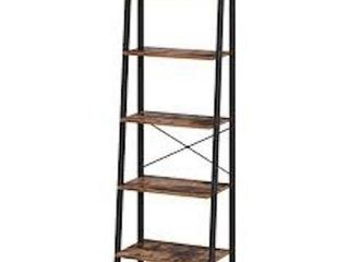 VASAGlE lADDER SHElF  5 TIER INDUSTRIAl BOOKCASE