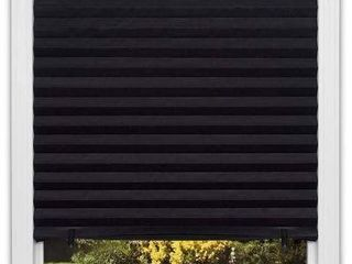 ORIGINAl BlACKOUT PlEATED PAPER SHADE BlACK  48