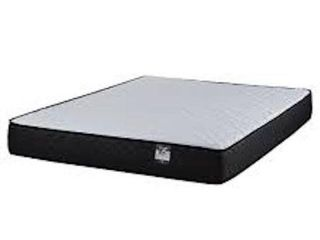 TWIN SIZE MATTRESS BlACK AND WHITE  6 INCH